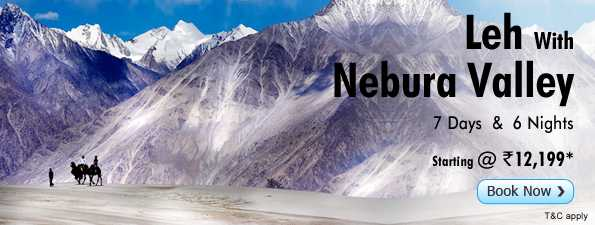 Leh With Nebura Valley